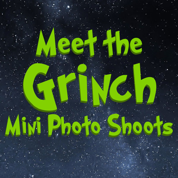 Meet the Grinch Photo Shoot