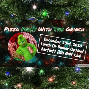 Pizza With The Grinch