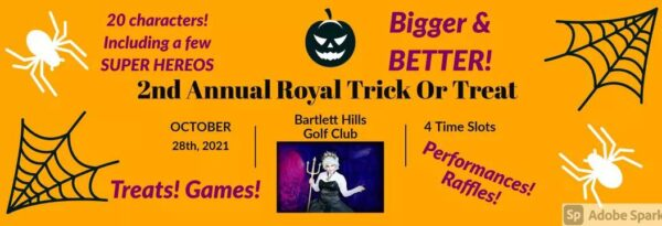 2nd Annual Royal Trick Treat